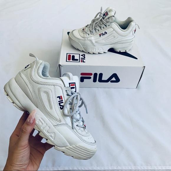 Fila Shoes   Disruptor Ii White Size 6